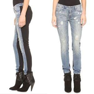 Iro Rayley Skinny Distressed Light Denim Jeans